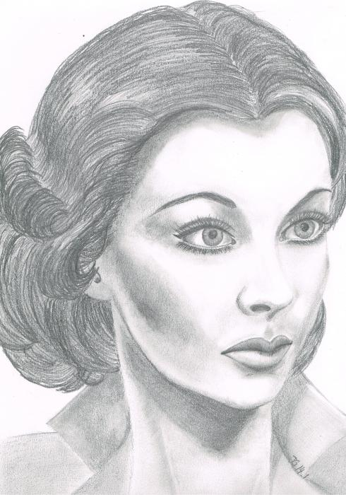 Vivien Leigh by grasshopers